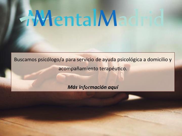 Psicólogos en Madrid: ayuda psicológica a domicilio y acompañamiento terapéutico