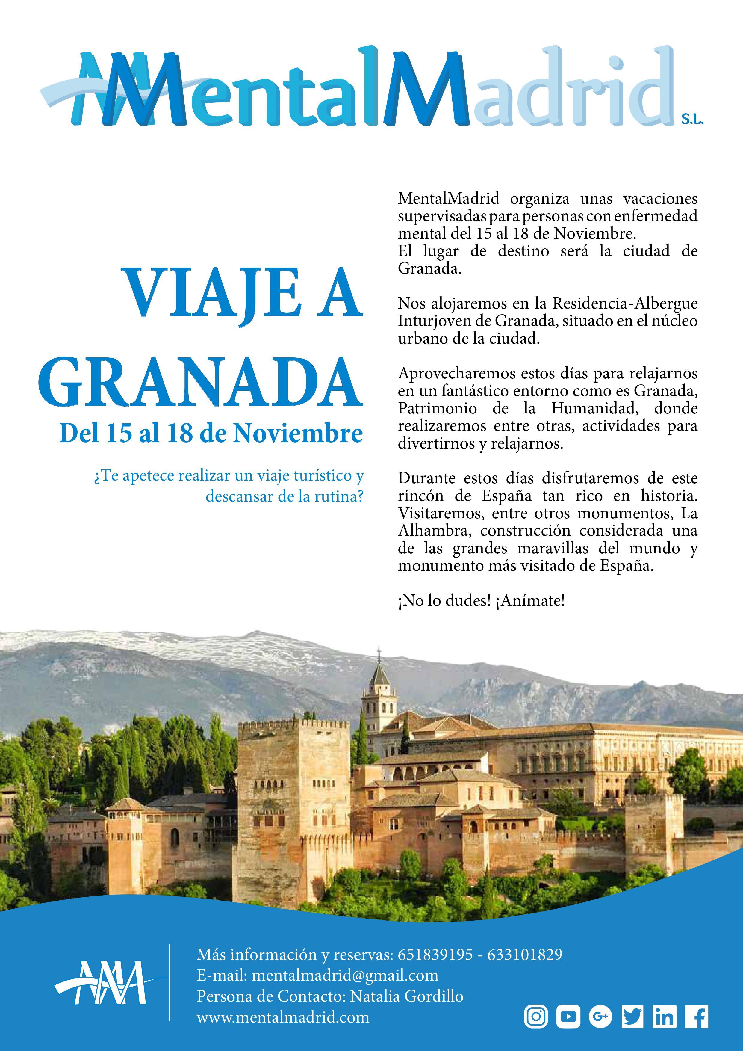 Viaje Supervisado Granada